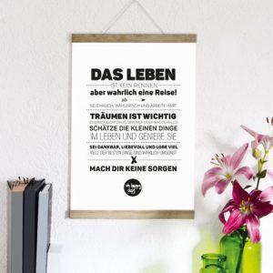 """Kunstdruck """"Das Leben...""""-0"""
