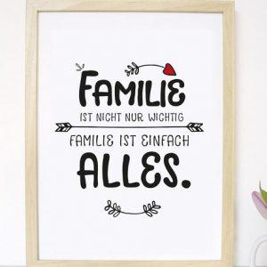 """Kunstdruck """"Familie""""-0"""