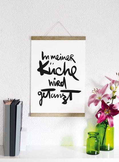 """Kunstdruck """"Küche""""-0"""