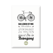 "Magnet ""Fahrrad fahren...""-0"