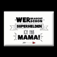 "Magnet ""Superheld Mama""-0"