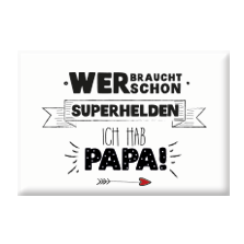 "Magnet ""Superheld Papa""-0"