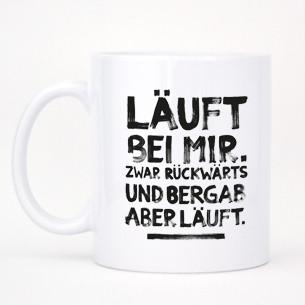 """Tasse """"Läuft""""-0"""