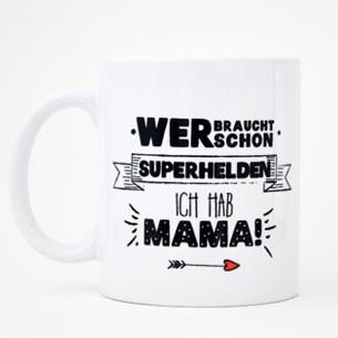 """Tasse """"Superheld Mama""""-0"""