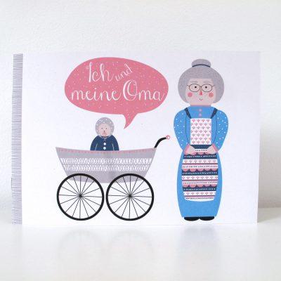 """Buch """"Ich&Oma""""-0"""