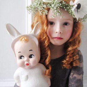 Popolampe- Hase weiß-0