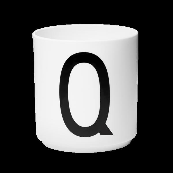 """Buchstabenbecher """"Q""""-0"""