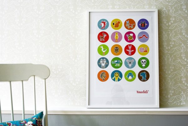 """Poster """"Knuschels""""-0"""