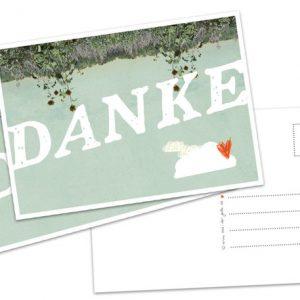 "Postkarte ""DANKE""-0"