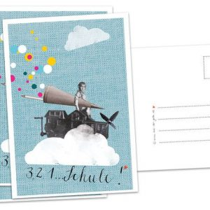 "Postkarte ""Einschulung-hoch""-0"