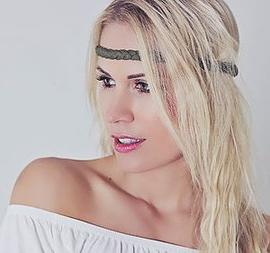 Haarband/ oliv-0