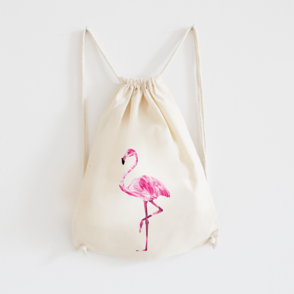 Turnbeutel - Flamingo-0