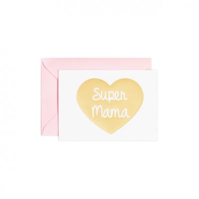 Klappkarte - Super Mama-0