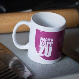 """Tasse """"Mach´n Kopp zu""""-0"""
