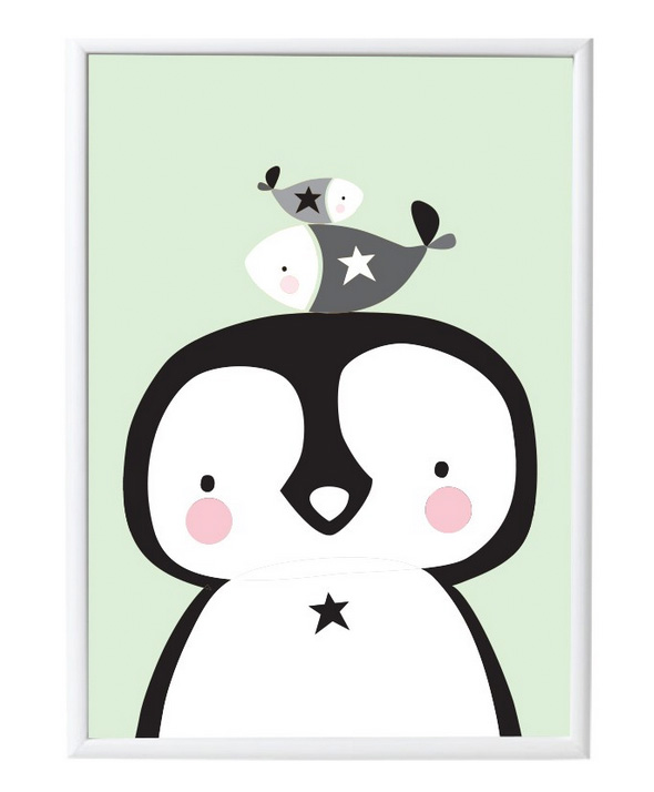 Poster Pinguin