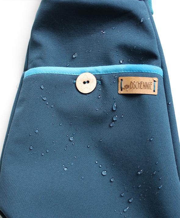 Softshellhose petrol - Wasserabweisend-1731