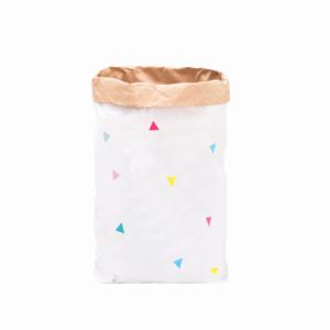 "Paperbag ""Dreiecke - bunt""-0"