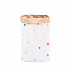 """Paperbag """"kleine Sterne - bunt""""-0"""