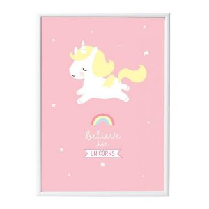 Kinderzimmer-Poster-Einhorn-A-little-lovely-company