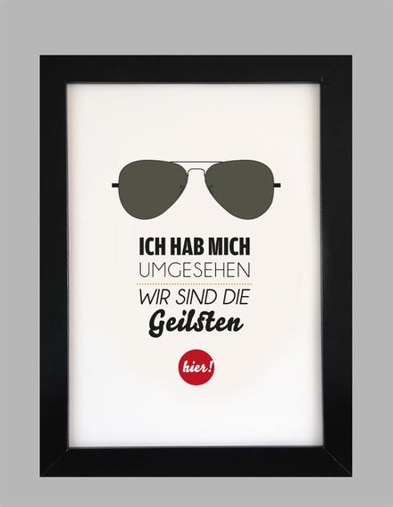 """Kunstdruck """"Geil...""""-0"""