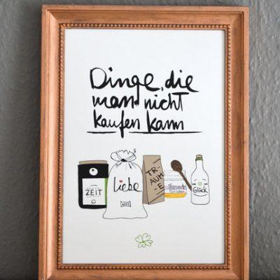 "Kunstdruck ""Dinge""-0"