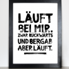 "Kunstdruck ""Läuft""-0"