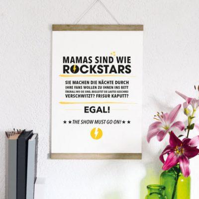 """Kunstdruck """"Rockstar Mama""""-0"""