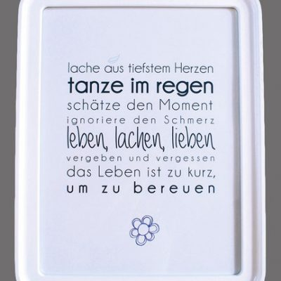 """Kunstdruck """"leben, lachen, lieben""""-0"""