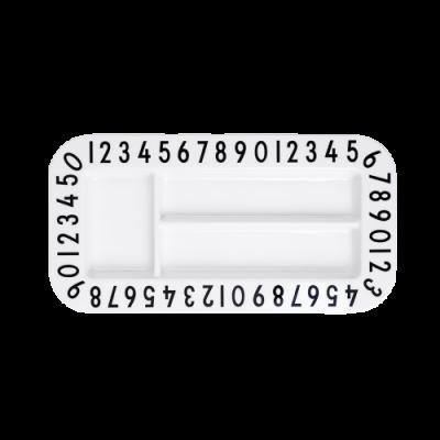 Buchstaben Snackplatte-0
