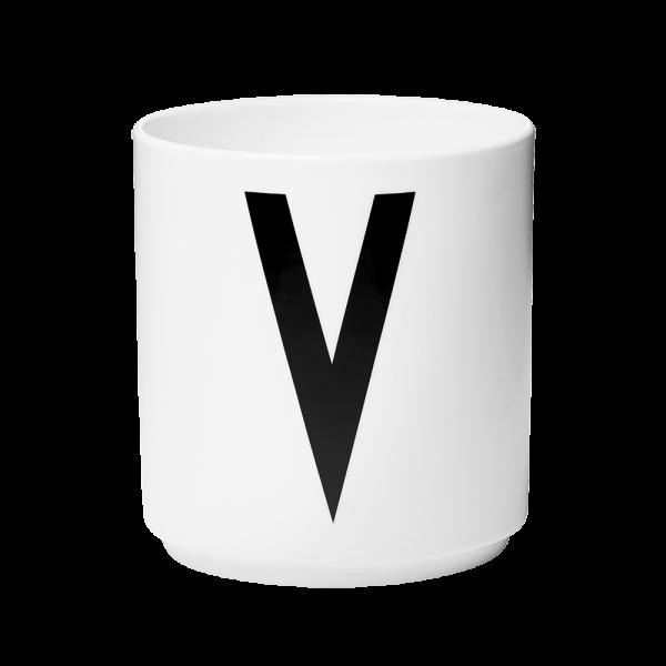 "Buchstabenbecher ""V""-0"