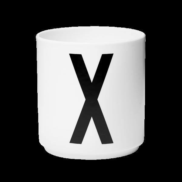 """Buchstabenbecher """"X""""-0"""