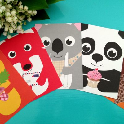 """Postkarte """"Koala""""-988"""