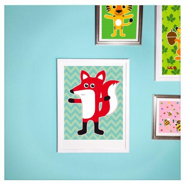 "Poster ""Fuchs""-1311"