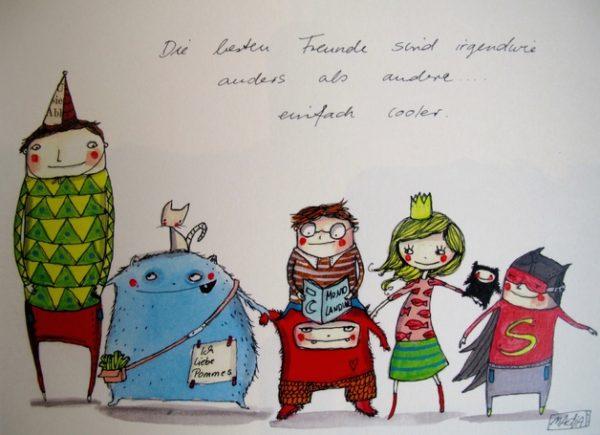 "Bild ""beste Freunde""-582"