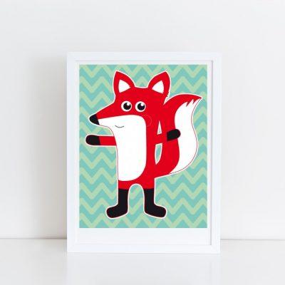 "Poster ""Fuchs""-0"