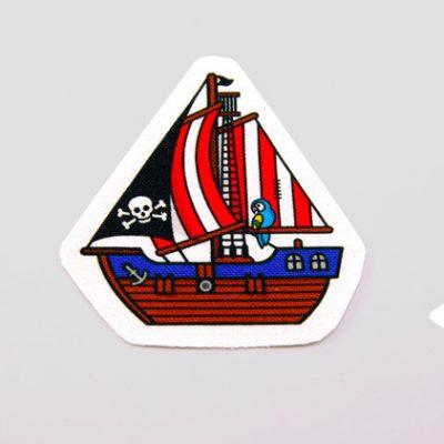 "Aufnäher ""Piratenboot""-0"