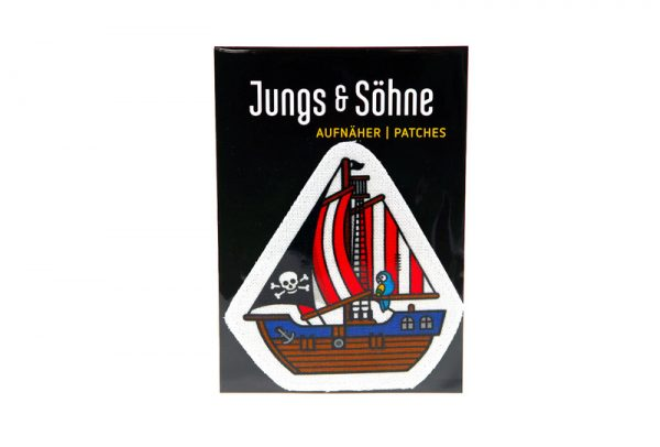 "Aufnäher ""Piratenboot""-1074"