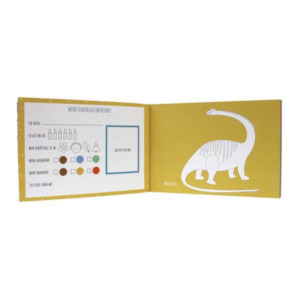 """Buch """"Meine Kindergartenzeit"""" - Dinos-1494"""