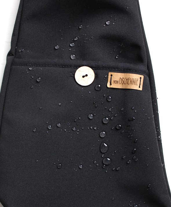 Softshellhose schwarz - Wasserabweisend-1738