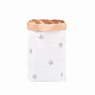 "Paperbag ""kleine Sterne - silber""-0"