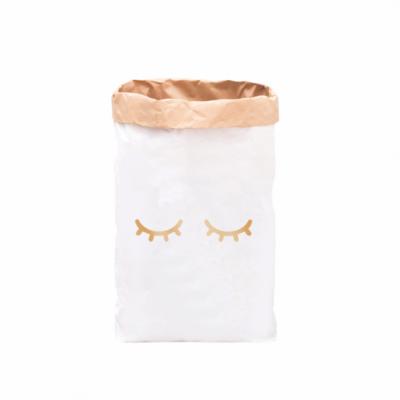 "Paperbag ""müde Augen - gold""-0"
